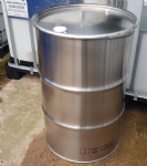 205 Litre New Stainless Steel Clamp Top Drum